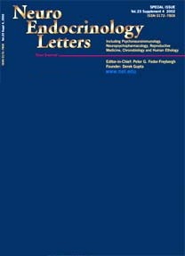 Neuro Enocrinology Letters - issue Vol 27(1-2) 2006 - NeL edu